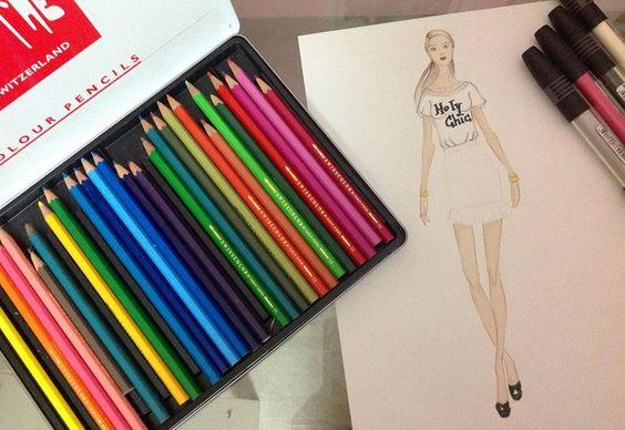 Contando os dias para a nova coleção!  #coleção #primavera #verão #tendência #ilustração #moda