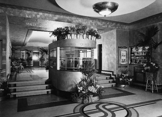wrexham cinema foyer architect hw weedon old foyer with traditional ticket office art deco box office loew