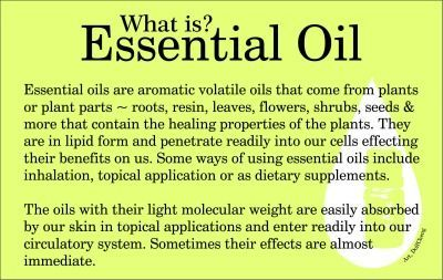 What is Essential Oil??  Interested in learning more?  Contact me for a free consultation.