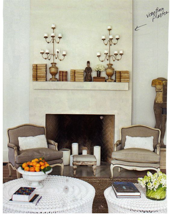 Venetian Plaster So Cool Fireplaces Pinterest Venetian And Plaster