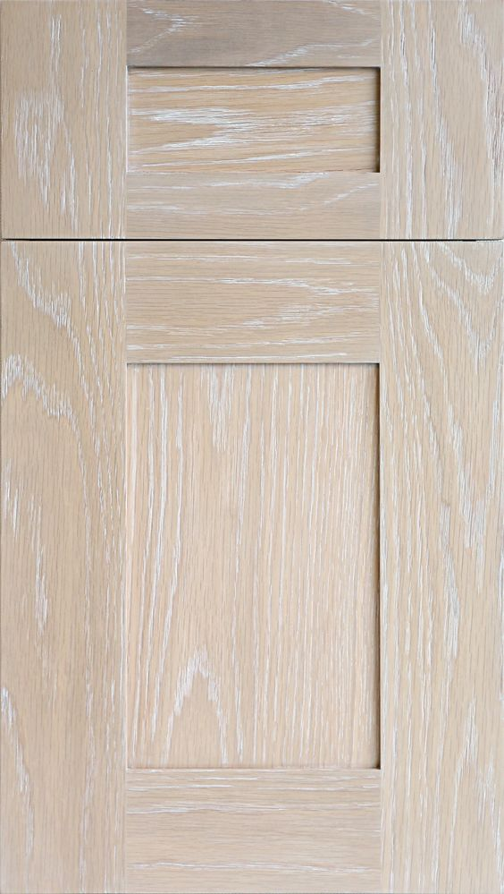 Meridian wr door in plainsawn white oak in driftwood stain for White stain for kitchen cabinets