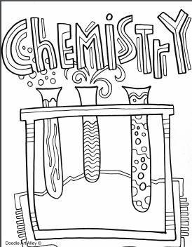 Chemistry Coloring Pages Deckblatt Schule Schule Malvorlagen Malvorlagen