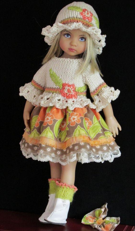 Effner Little Darling Dolls Handmade Outfits.: