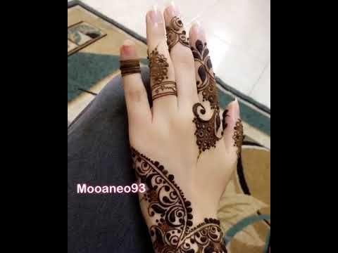 نقش حنااااء ناعم Youtube Henna Henna Hand Tattoo Bridal Jewelry