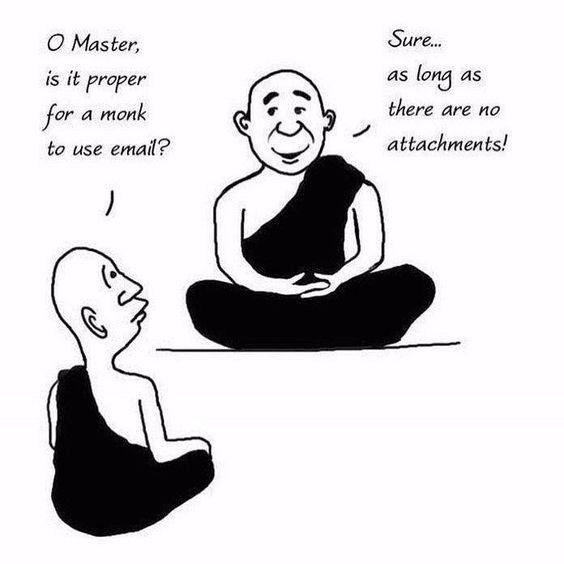 Today's Spiritual Funny #tealswan #thespiritualcatalyst #funny #funnymemes #haha #spirituality #monk #buddhism