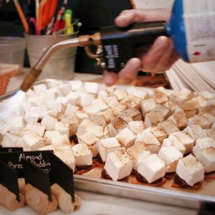 Smores @ Du Jour Bakery  for our menu! must have homemade marshmallows