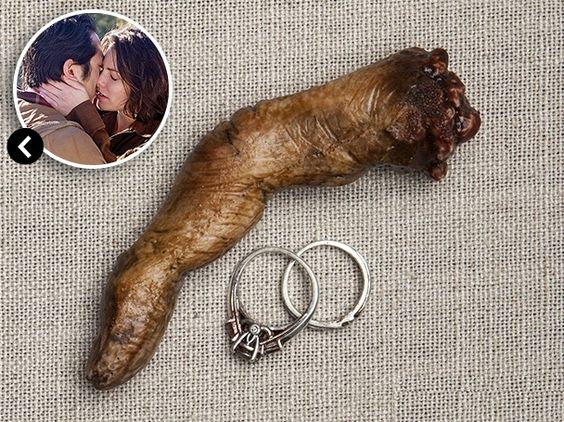 The Walking Dead Accessory/Acessórios | MAGGIE'S WEDDING RINGS | Os Anéis de Noivado de Meggie | Fonte: Entertainment Weekly