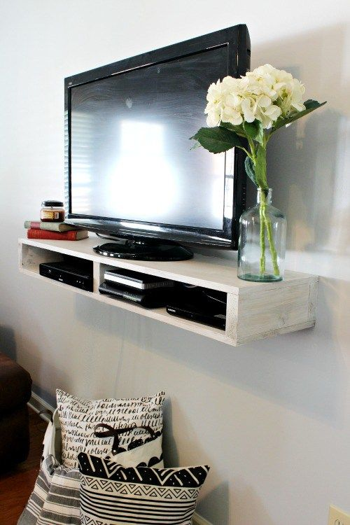 Diy Floating Tv Shelf Floating Tv Shelf Floating Shelves Diy