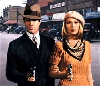 Bonnie and Clyde for the Mister and Me.