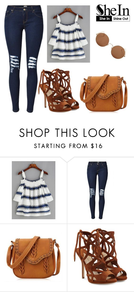 """""""Bez naslova #1667"""" by selia-101 ❤ liked on Polyvore featuring Paul Andrew and Sunday Somewhere"""