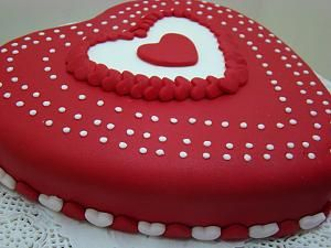 tortas de san valentin