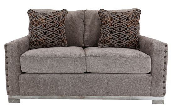 Bombay™ Home Yonkers Pewter Oversized Loveseat