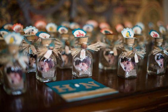Wedding favors #glassbottle #wedding #arizona #villasiena