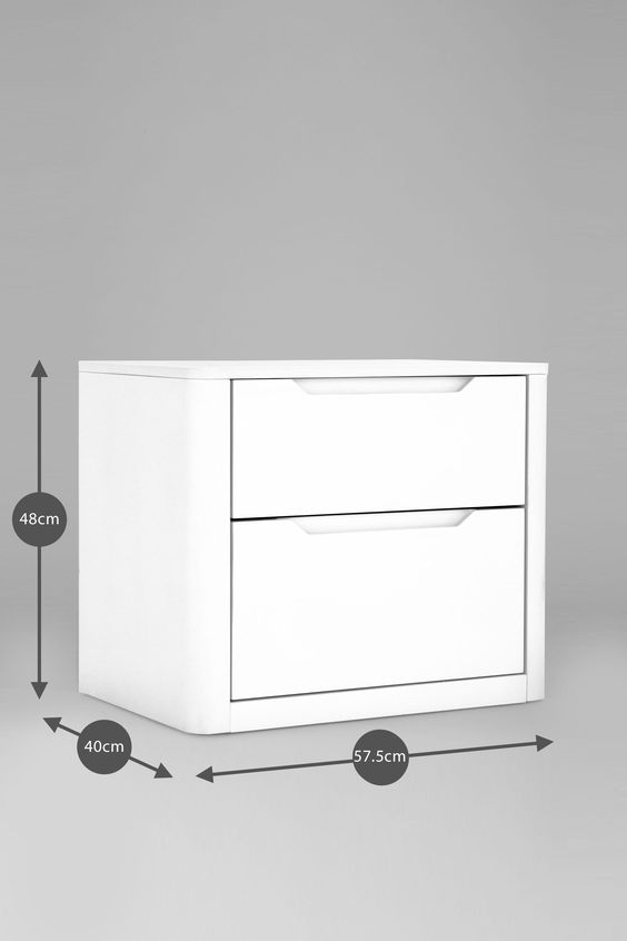 Buy Sienna Bedside Chest from the Next UK online shop
