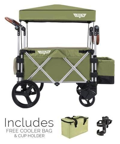 Keenz 7S Stroller Wagon (Green) #stroller #supremestroller #pram #pushchair #baby #parents