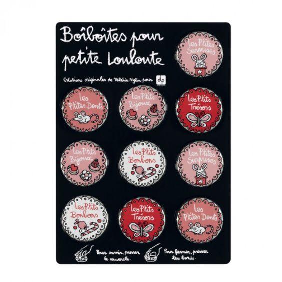 Boiboites (display de 10) Louloute - rose