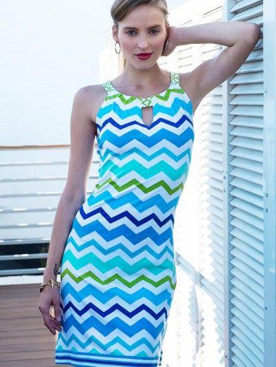 Barbara Gerwit- Summer Stripes #fashion #dress