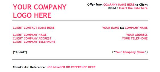 5 Free Freelance Design Contract Templates Freelance web - job contract templates