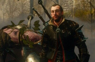The prickly witcher Lambert: