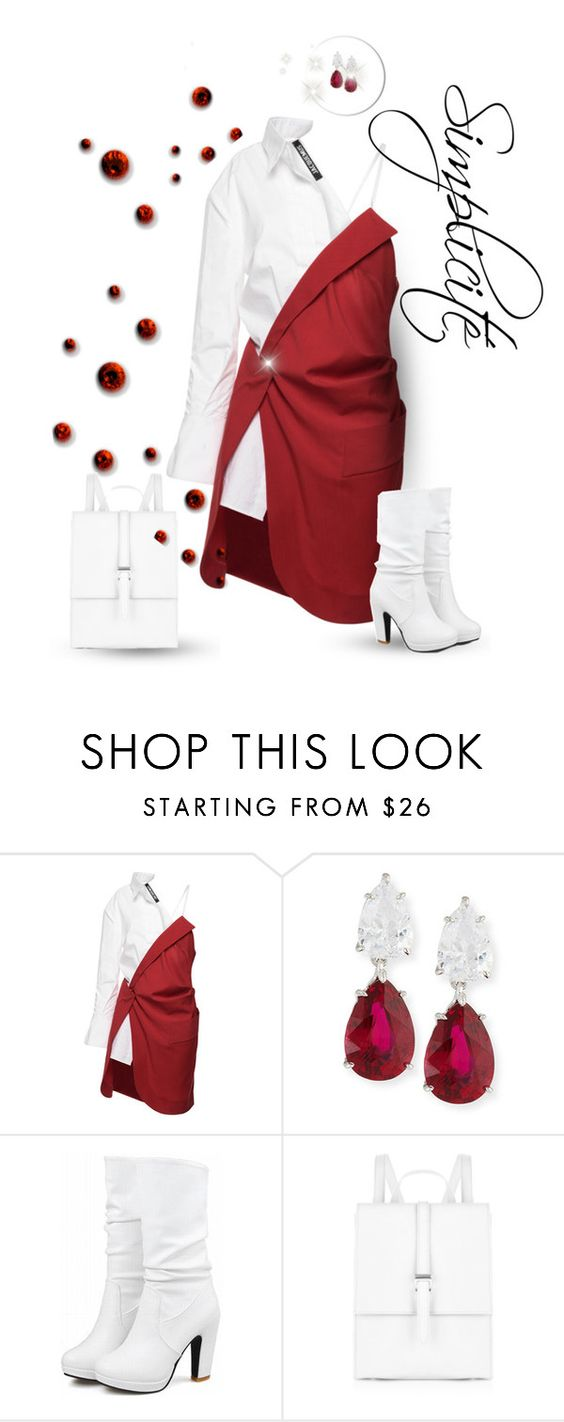 """""""Street style"""" by janemichaud-ipod ❤ liked on Polyvore featuring Jacquemus, Fantasia and Meli Melo"""