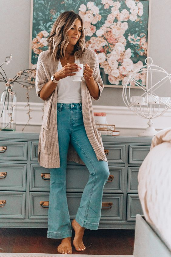 The Flare Jean Trend and 16 Ways to Wear Them - Lillies and Lashes