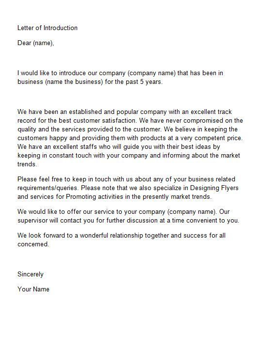 New Business Owner Letter To Clients from i.pinimg.com
