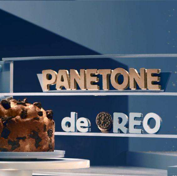 Panetone de Oreo Chocolate - #fizcomoreo