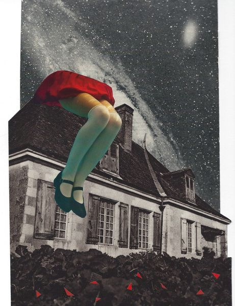 "anitaao:  ""Alice""Collage/ Cut & Paste©anitaa 2015"