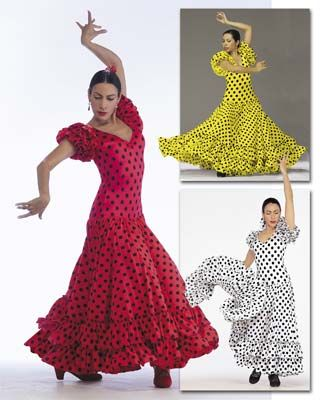 FL-899 Sevillana Flamenco Dress Flamenco Dresses Discount Praise ...