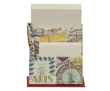 Porta-Notas com Caneta Paris