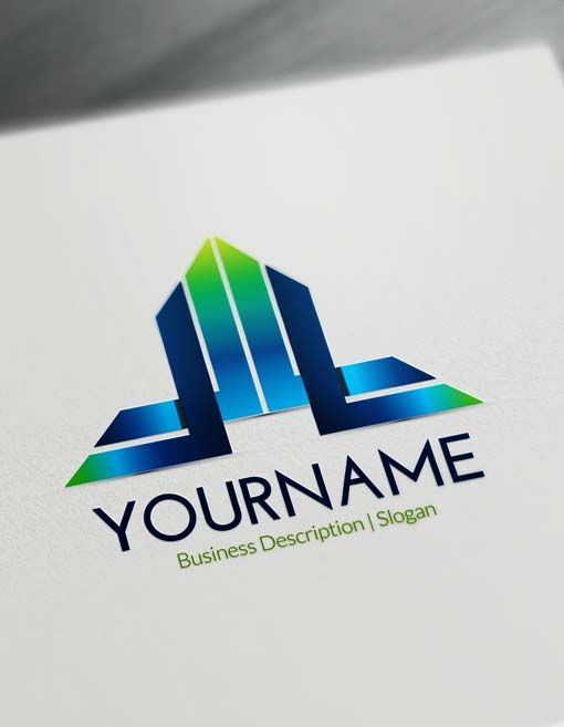 Free Letter Logo Maker A Initials Templates