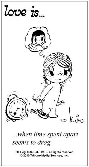 ...when time spent apart seems to drag :(