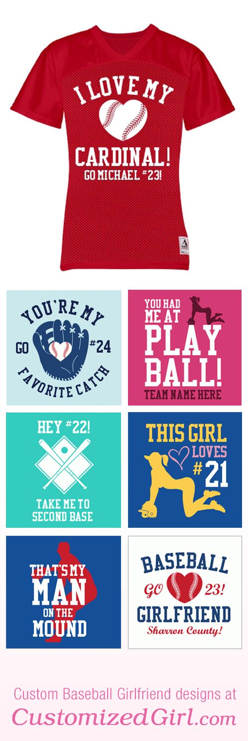 Baseball Girlfriend Shirt #baseballgirlfriend #girlfriendshirt #baseball
