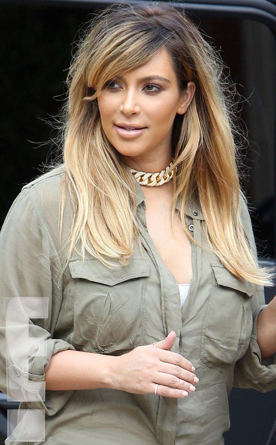 We love Kim Kardashian's stunning blonde 'do!