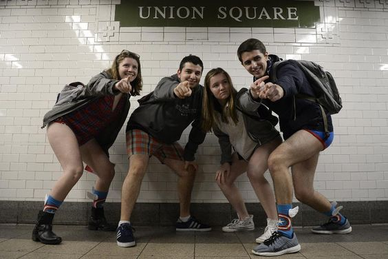 No Pants Subway Ride 2016 Part2