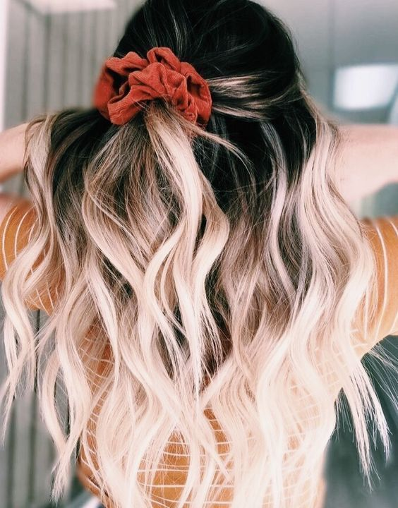 Pin On Bleached Hair