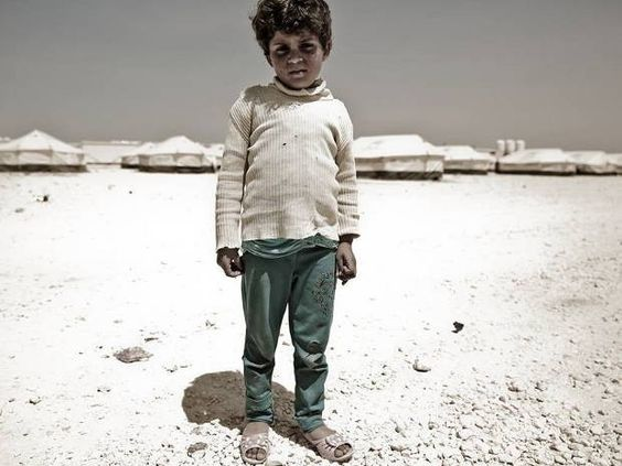 Segundo Chaim, crianças sírias não tem perspectiva de futuro graças ao conflito no Oriente Médio. (Foto: Gabriel Chaim / Divulgação)