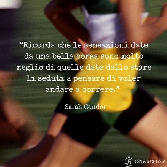 Buongiorno amici runner o aspiranti tali! #motivazione #corsa
