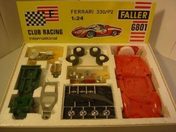 Faller Club Racing 6801 Ferrari 330/P2 Kit Aufsteller