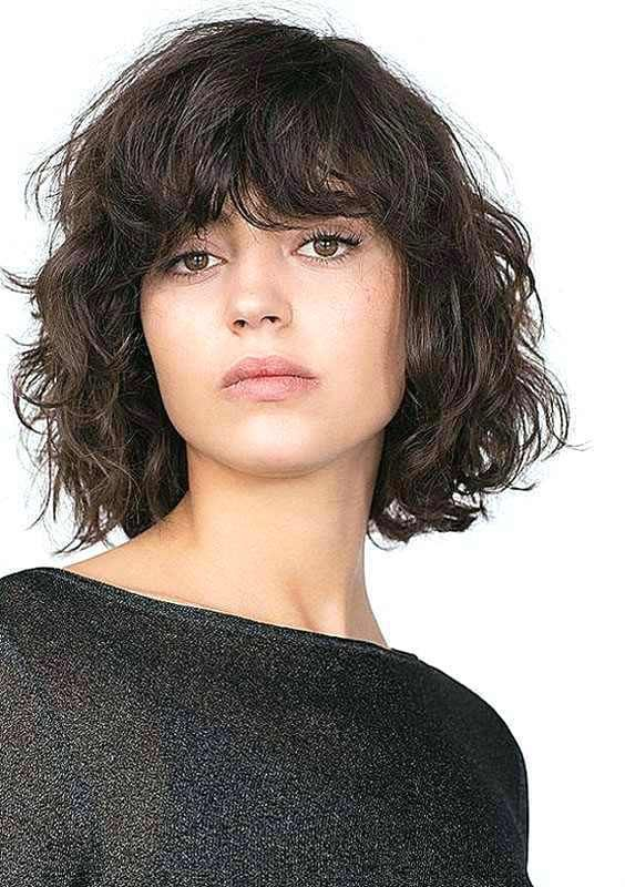 29 Perfectly Hairstyle For Square Face Beauty Short Hair With Bangs Hairstyles With Bangs Short Wavy Hair