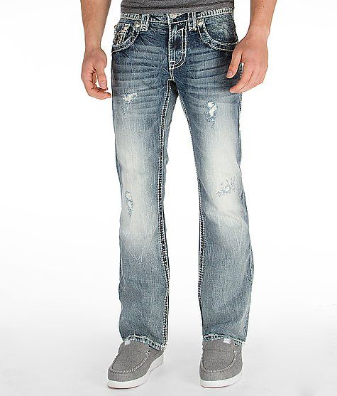 U0026quot;Rock Revival Kasper Slim Boot Jeanu0026quot; www.buckle.com | Edgy Menu0026#39;s Style | Pinterest | Double ...
