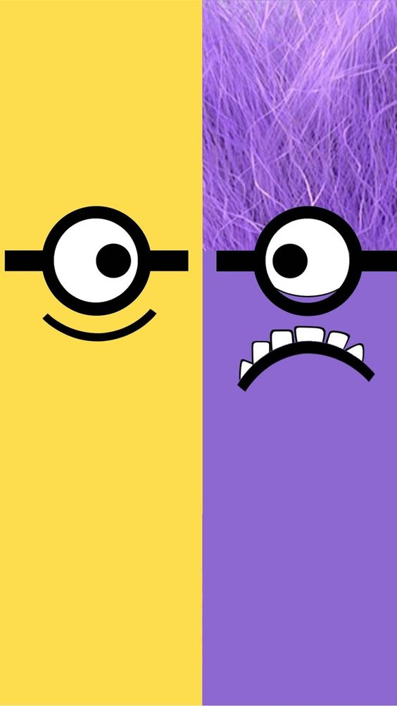 Despicable Me yellow and purple minion iphone 6 plus ...