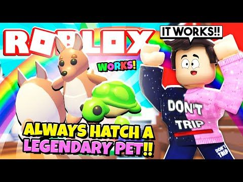 Works How To Always Hatch A Legendary Pet In Adopt Me New Adopt Me Aussie Egg Update Roblox Youtube Pets Adoption Roblox