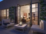 Designed by Andrew Sheinman of Pembrooke & Ives, the luxury duplex units at  155 East 79th Street  on New York's upper East Side include an exclusive penthouse suite with a private rooftop terrace that can be landscaped according to residents' tastes.