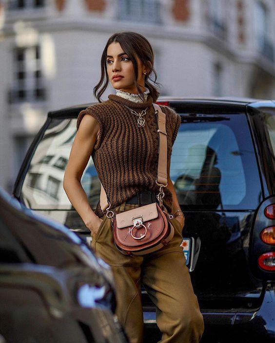 Los mejores looks de Camila Coelho en el PFW SS2019 #pfw #parisfashionweek #camilacoelho #chloe #balmain