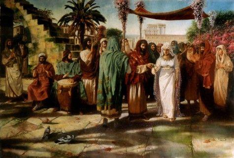 ancient jewish wedding customs httpwwwrebeccaatthewell