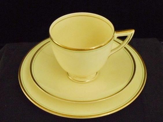 15 pce Tea set  Wedgwood 1930  Hermes  Pattern-2726 4 x trios/creamer/sugar/cake