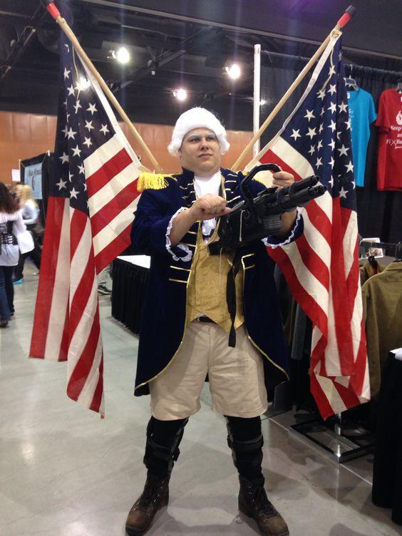 Bioshock Infinite Cosplay Patriot Iron Patriot - Bioshoc...
