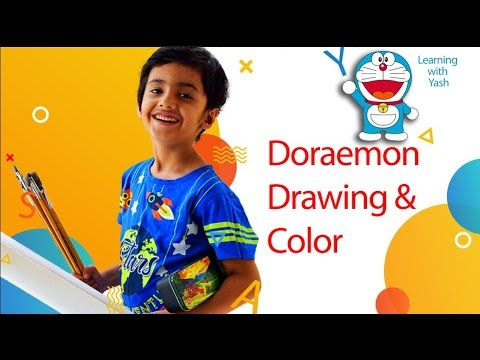 How To Draw Doraemon Easily Step By Step In Hindi Sketches Coloring Easy Drawing For Children Easy Drawings For Kids Doraemon Drawing For Kids
