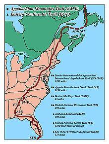 Sentiero degli Appalachi - Wikipedia